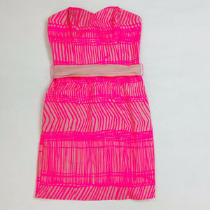 H&M Dress 6 Womens Strapless Mini Party Cocktail
